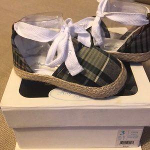Adorbs ! New ! Infant patchwork espadrille sandal